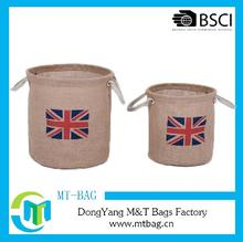 Jute litter caddie bag for promotion Alibaba supplier