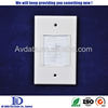 1 Gang brush wall plate video wall plate