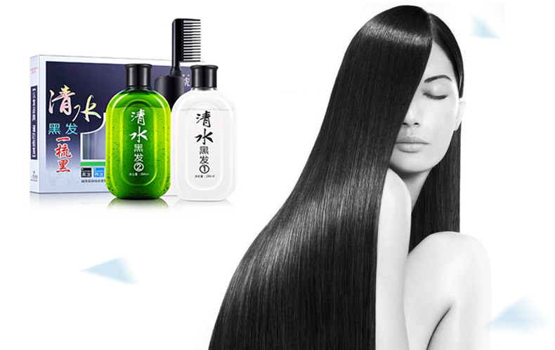 2016 Asia Best Selling Black Hair Shampoo Manufacturer