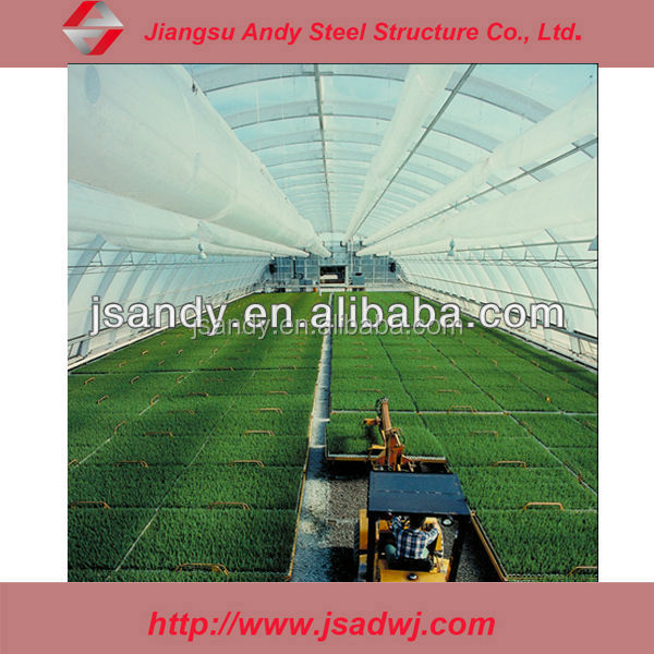 Farm steel shed glass curtain wall