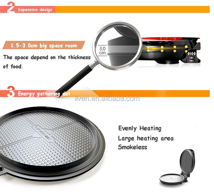 LR-300HA Electric pizza round baking cooker