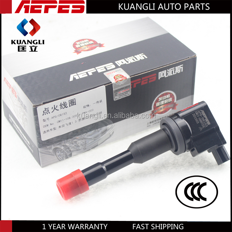 APS-08153 Hot Sale Hight Quality Hondy a ignition coil 30521-pwa-003 for hond a Fit 1.3 City 02-08 30521-pwa-003