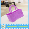 Silicone jelly candy handbag/medium-sized tote bags popular by women