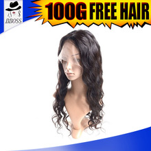 unprocessed 100 % human hair wig bangkok in wigs for black women, wholesale full lace wig perruque indetectable