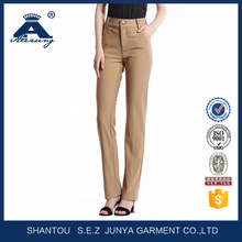 wholesale fashion ladies pleated trousers OEM woman pants