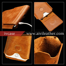Smooth & Soft Genuine Leather Pouch Case for Retro Leather iPhone 6s Covers