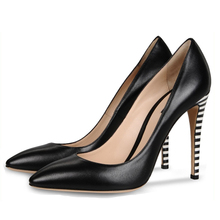 Wholesale Elegant New Design Hottest Stylish Top Quality Genuine Leather High Heel Made In China All Brand Shoes