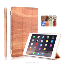 8 Colors Soft Leopard Camouflage Wood UK PU Leather Case Smart Magnetic Flip Cover for iPad Air 2