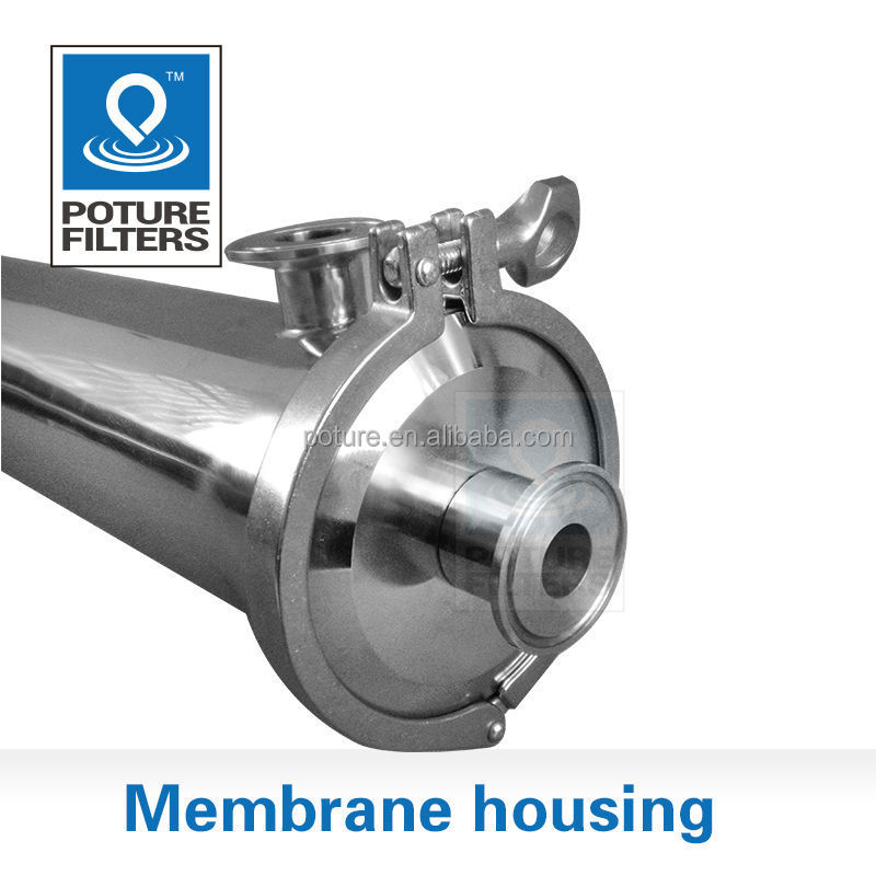 Stainless steel 316 4 inch membrane housing Reverse osmosis