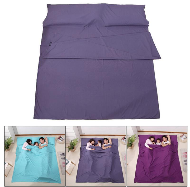 Wholesale High Quality Travel Sleeping BagWaterproof Camping Sleeping Bag Sleeping Bag Liner thicken double