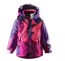Girl's waterproof & breathable warm keeper ski jakcet with abrasion resistant kids clothes girls