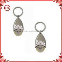 Durable useful cute wheel keychain metal