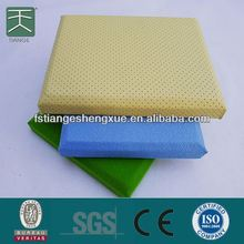 Easy Fix And Anti-fire Cotton Fabric Hot Sale Wrapped Acoustic Wall Panel For Office
