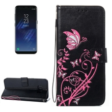 For Galaxy S8 Voltage Crazy Horse Texture Horizontal Flip Leather wallet cell phone case