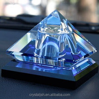 K9 Crystal Glass Pyramid Shape Perfume