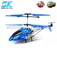 R/C helicopter aircraft model PF908 3.5 Channel Metal RC Helicopter W/Gyro 25CM
