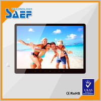 15.6 inch 1280*800 pixel high brightness lcd digital advertising photo frame