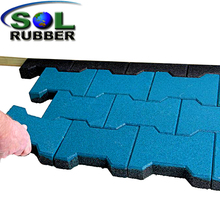 Cheap horse stall rubber pavers mats for sales