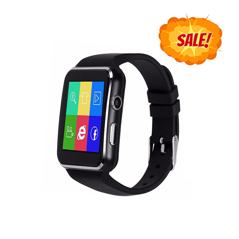 X6 Cheap Bluetooth Smart Wrist Watch Phone Android