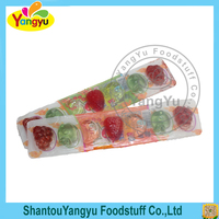7 Pieces Of Fruit Shape Jelly