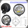 "Chrome black ring round led car additional light 7"" 45w car led spot light 12v"