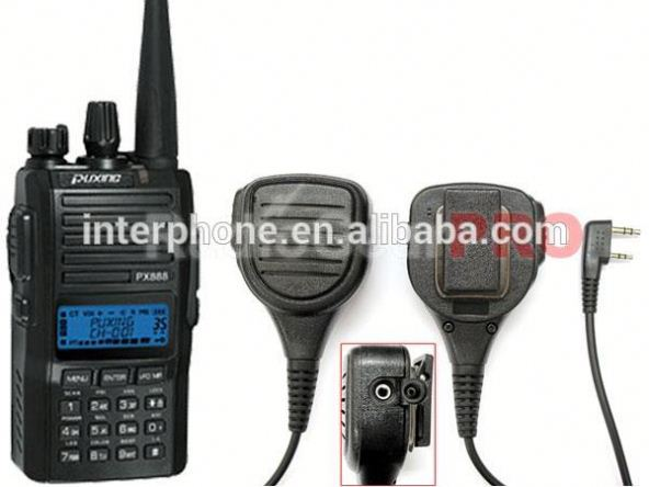 Cheap radio,Puxing PX-888 UHF 400-480mhz Radio walkie talkie + Rain proof Mic FREE Earpiece
