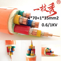 N2XSYRY,NA2XSYRY XLPE insulated Thin Steel Wire armored PVC insulated Power Cable