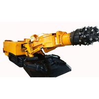 Heavy duty hard rock drilling coal mine roadheader tunnel boring machine