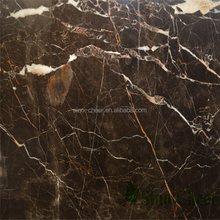 Indus black & gold marble stone for indoor