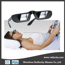 Horizontal Lazy Glasses - For Reading and Watching TV