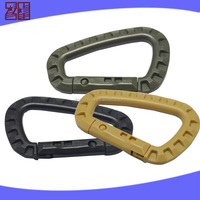 Various types climbing carabiner,plastic carabiner for keychain,carabiner