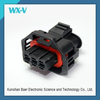 3 Pin Way Sealed Male Female Auto Wire Electrical Connector With Terminals and Seals
