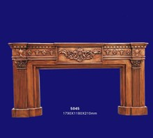 18th Century Antique English Style Decortive Fake Fireplace Frame Mantel 5045
