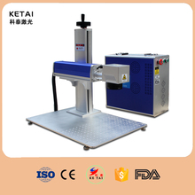 Good price laser marker 10W 20W 30W 50W portable fiber laser marking machine for metal
