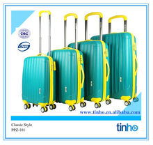 2014 New Trolley PP luggage ,colorful luggage travel bags,alibaba china supplier luggage