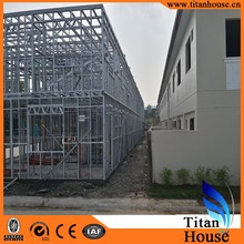 China 2015 High Quality Steel Frame Apartment Building Prefab Low Cost Apartment Building