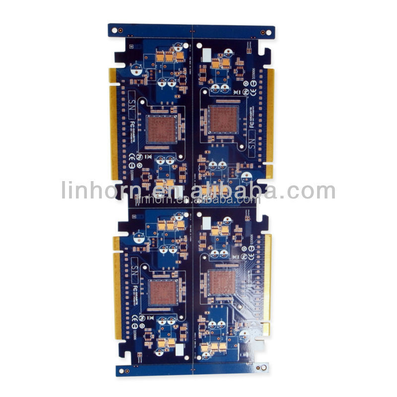 6 Layer Wireless mobile phone charger pcb board
