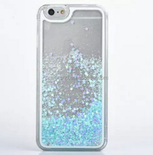 Transparent Hard PC Cover Dynamic Liquid Glitter Sand 3D Stars Back Case for iPhone 5S SE 6 6S 6 PLUS 7 7 PLUS