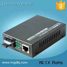 CE FCC RoHS ISO certificated zte media converter