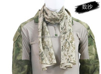 100% Cotton Military Shemagh Tactical Desert Keffiyeh Scarf Wrap