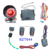 Remote control smart vibration alarm magic car alarm system
