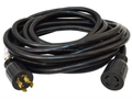 S00402 ETL Generator Power Extension Cord - 4 Prong with Twist Lock - 30 Amps