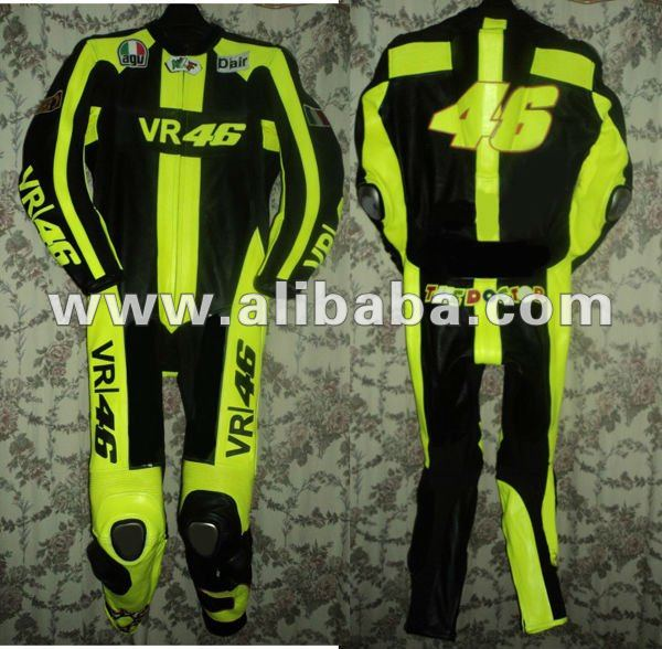 Valentino Rossi Motorcycle Leather Suit