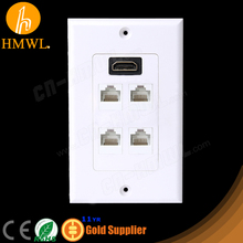 HDMI Network RJ45 Wall Outlet
