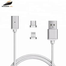 2.4A magnetic Data Sync fast Charger USB Cable For iPhone 7/7plus