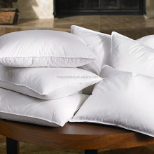 Wholesale hotel 100% cotton duck down feather pillow