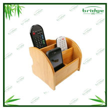 bamboo remote control holder