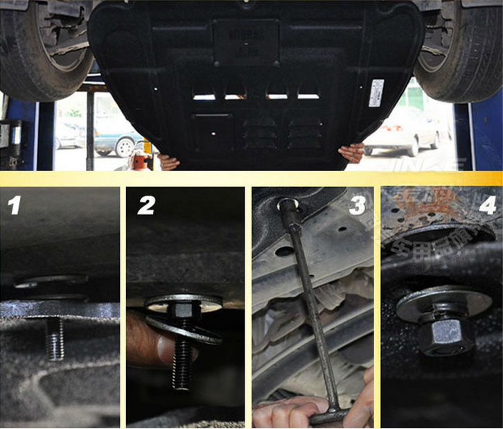 Guangzhou Spare engine guard plate undertray protection
