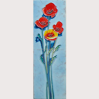 Ceramic tiles painting decorative wall hanging picture