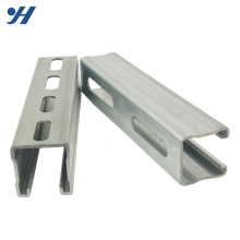 Hot Sale Slotted Galvanized Stainless Steel Unistrut C Channel Prices